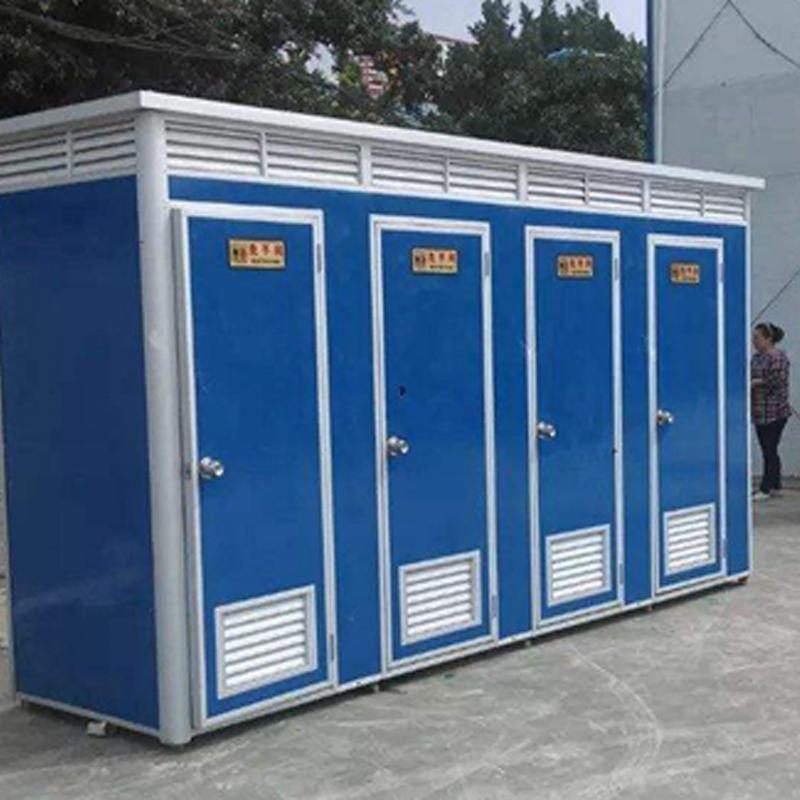 广州多厕位连体式移动卫生间出租