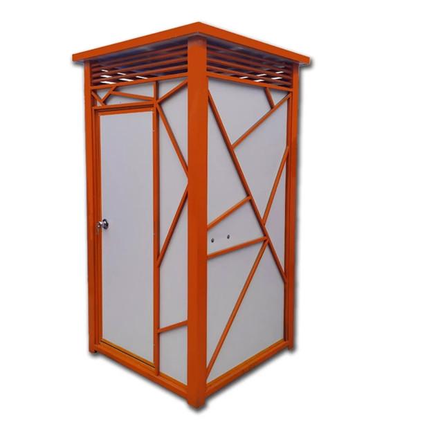 轻钢单体+双位公厕