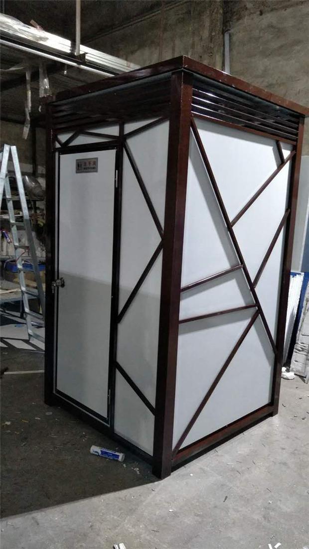 惠州轻钢单体+双位公厕